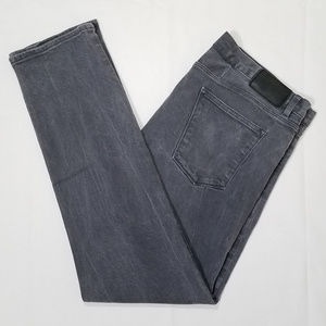Theory Raffi Slim Fit Gray Jeans 40 Made in USA